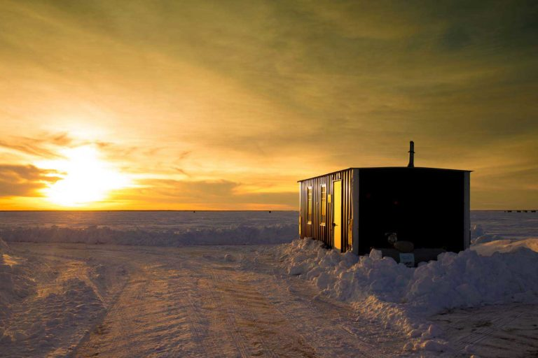 Ice Fishing Sleeper House Rentals